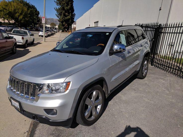 eBay: 2013 Jeep Grand Cherokee OVERLAND GRAND CHEROKEE OVERLAND 4X4 #jeep #jeeplife