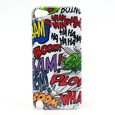 Haha+Boom+Cartoon+Motif+Hard+Case+pour+iPod+Touch+5+–+EUR+€+2.87