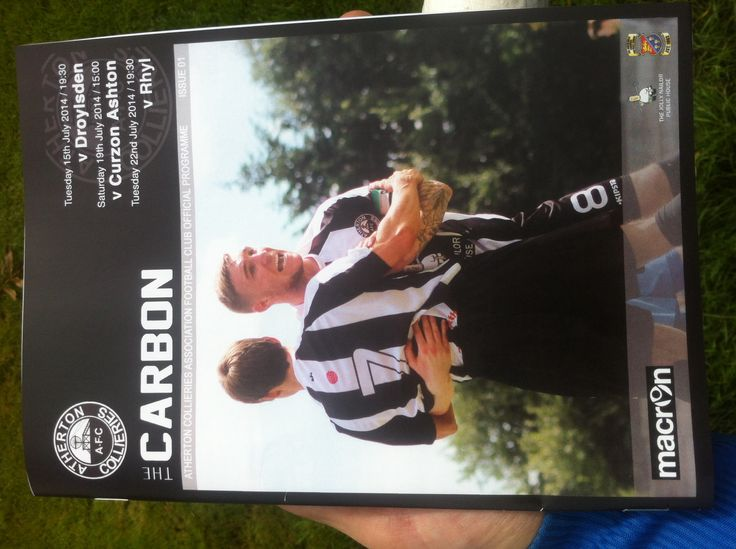 Atherton Collieries v Curzon Ashton 19/7/14