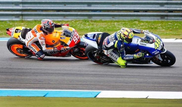 Rossi & Pedrosa, MotoGP Belanda 2013