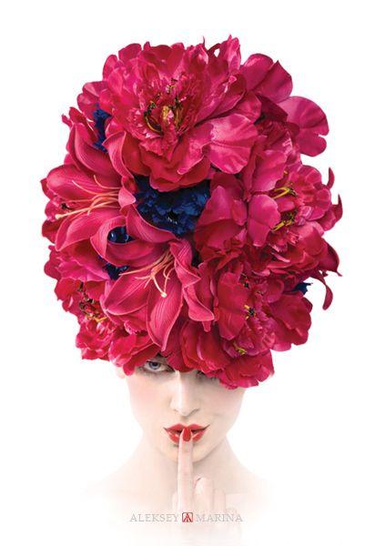 """Flower head"" (2008) from ""Eiforia"" photo-collection."