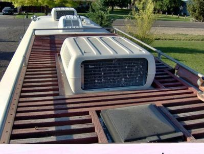 17 best images about new rv plans on pinterest fifth for Rv with roof deck