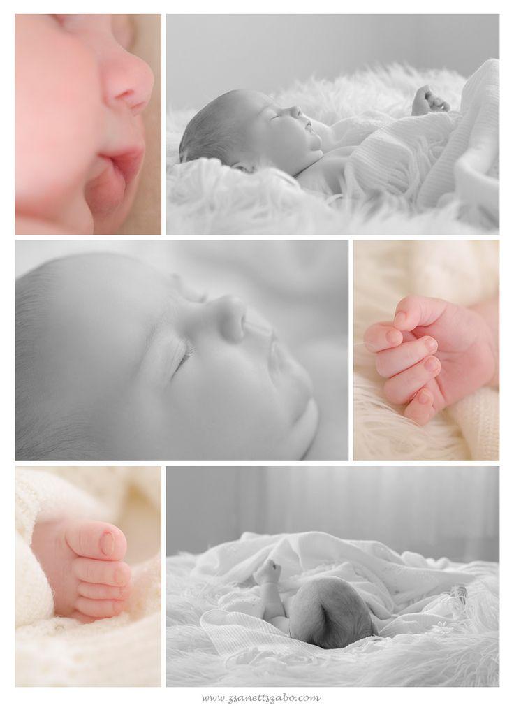 7 weeks old little girl baby photography