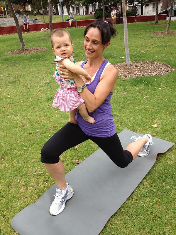 5 exercises for mums with babies