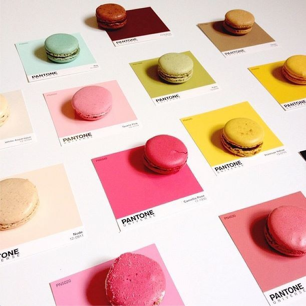 Macarons Pantone