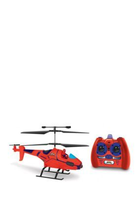 World Tech Toys Marvel Ultimate Spider-Man Ir Hero Pilot Rc Helicopter - Red - No Size