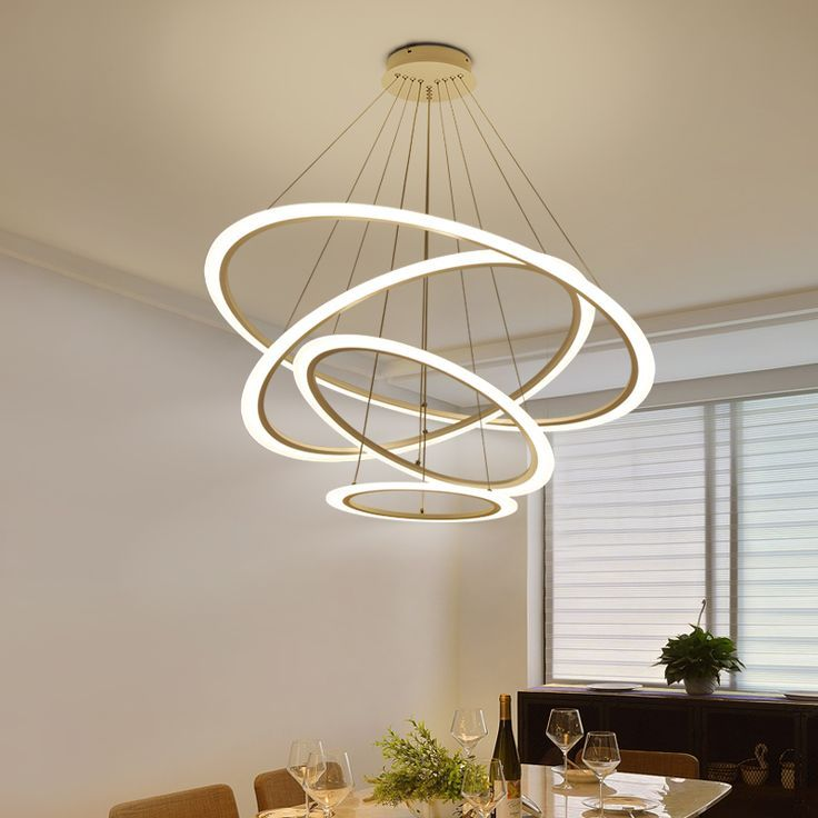 Wholesale Price Free Shipping Indoor Lighting Circel Rings