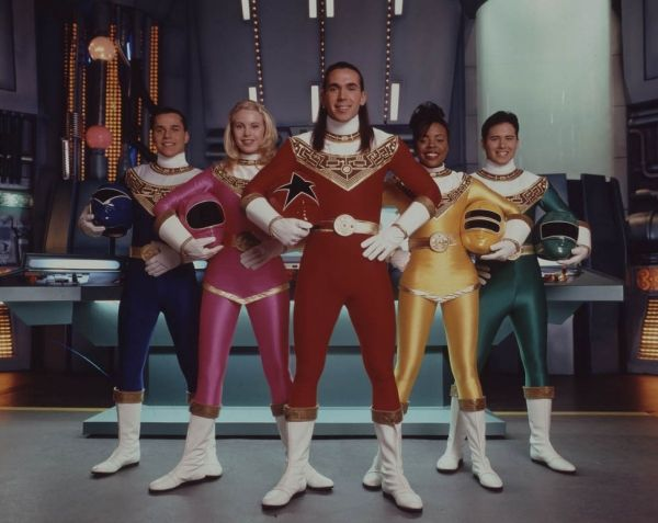 Rangers from Power Rangers Zeo