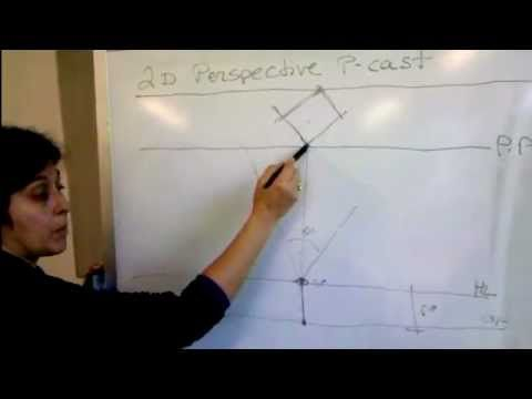 Drawing Tutorial - 2 Point Perspective - YouTube
