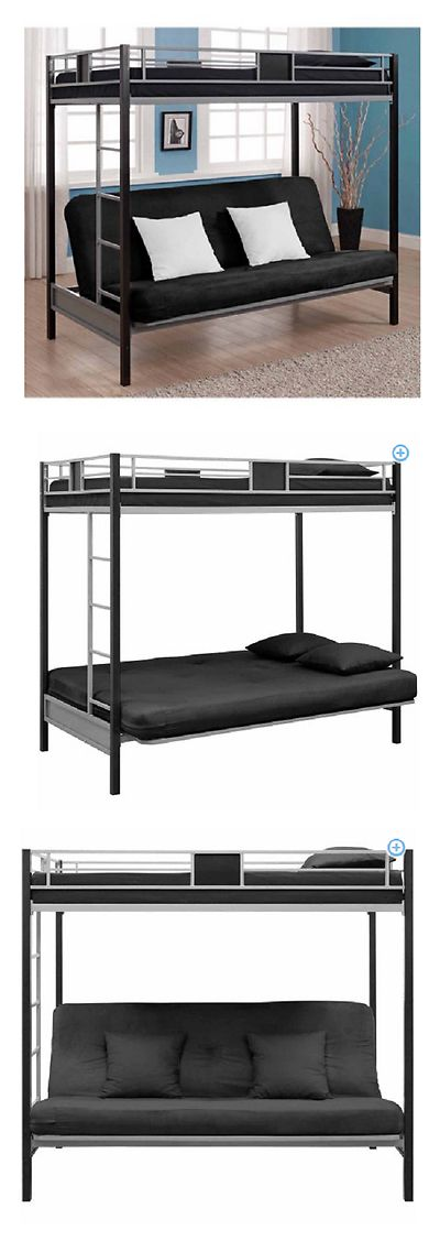 Other Beds and Mattresses 122759: Bunk Beds Twin Over Futon For Kids On Sale Discount Cool Couch Bed Boys Girls -> BUY IT NOW ONLY: $319.68 on eBay!