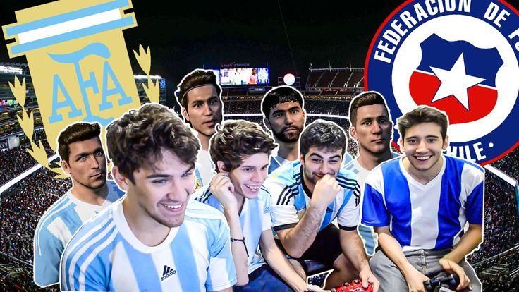 ARGENTINA vs CHILE   Copa America 2016   PES 2016   Previa - http://tickets.fifanz2015.com/argentina-vs-chile-copa-america-2016-pes-2016-previa/ #CopaAmérica