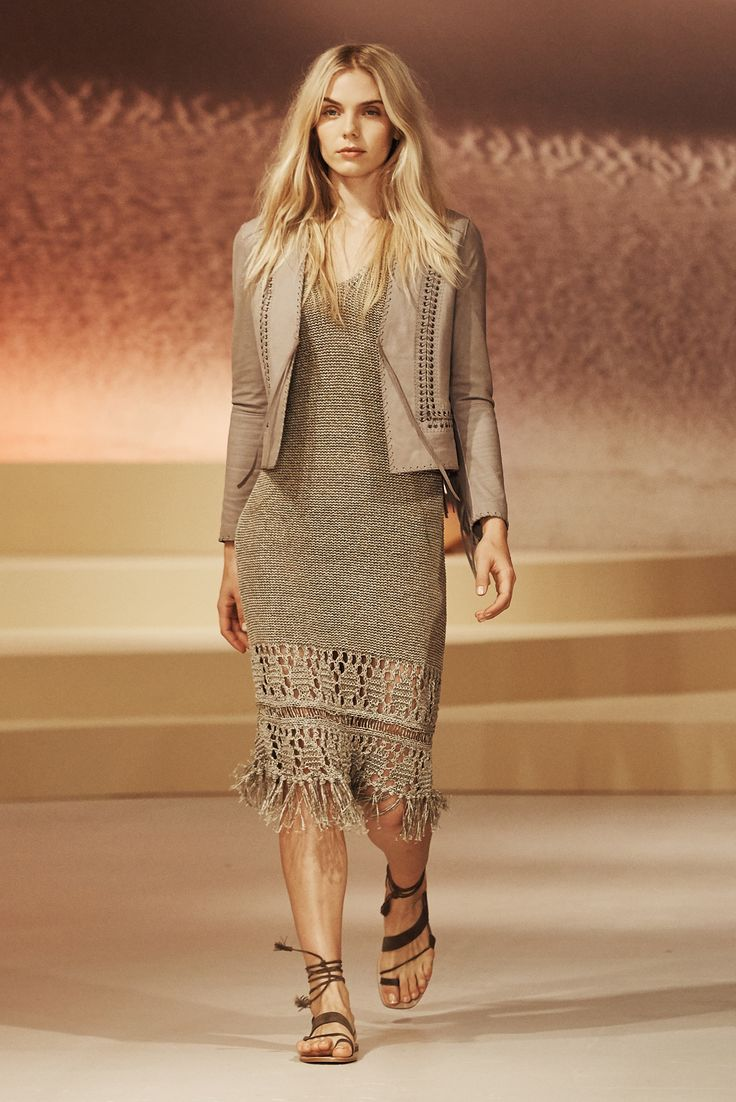 all beige everything Elie Tahari Spring 2016 Ready-to-Wear Fashion Show