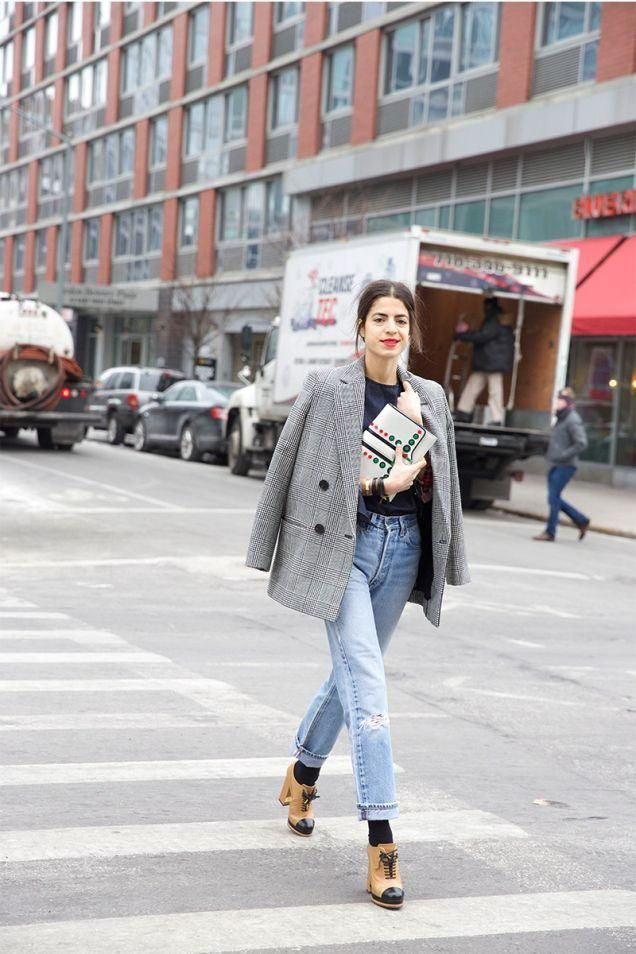 How to Shop For the Perfect Vintage Levi's: A Complete Guide. Leandra Medine wearing vintage Levi's 501 jeans