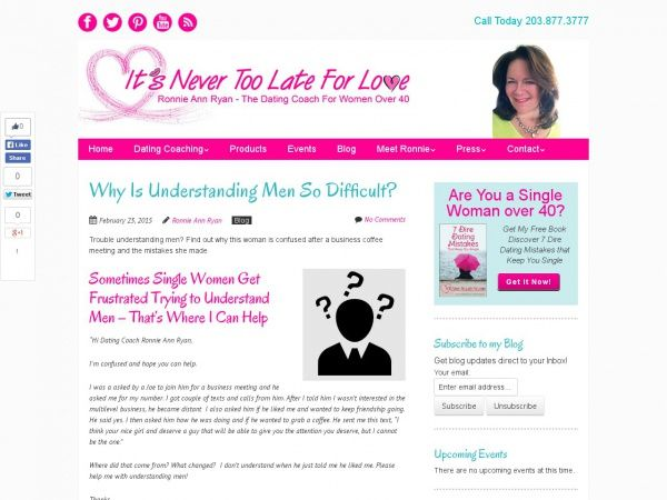 Why Is Understanding Men So Difficult?