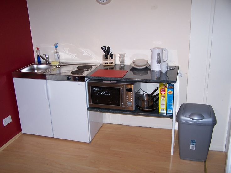 Bedsit In Student Accommodation | Elfin Kitchens