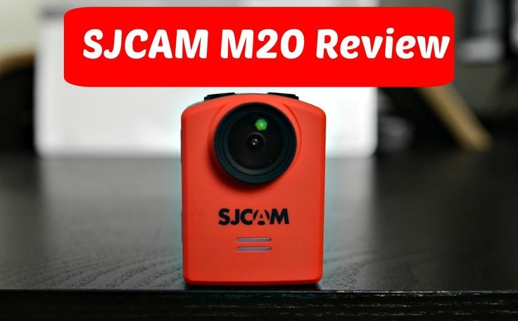 SJCAM M20 4K Action Camera Review: The Future of Action Cameras!