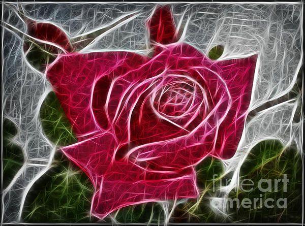 electrostatic rose