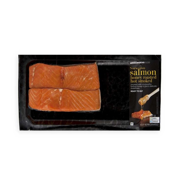Norwegian Salmon Honey Roasted Hot Smoked 200g