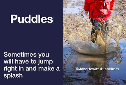 Puddle thoughts