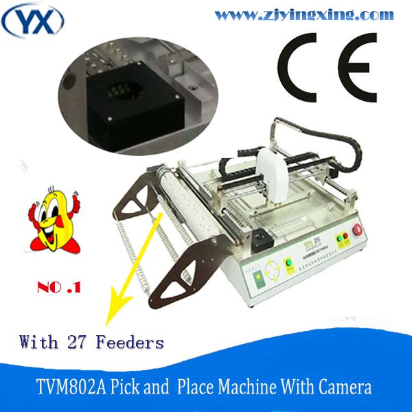 Full Automatic And Cheap Wholesale LED Light Assembly Line BGA Machine TVM802A With Mark Ponit+Vision System