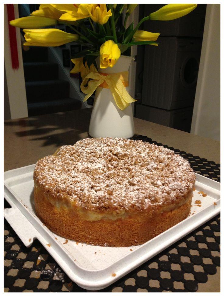 Apple Custard Tea Cake Australian Women S Weekly