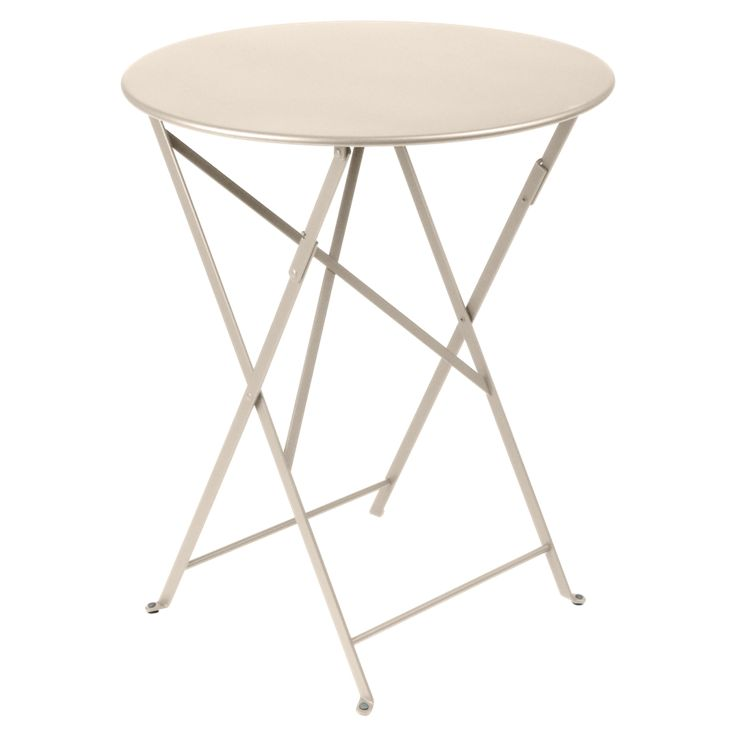 Bistro round table 60 cm, metal table, outdoor furniture