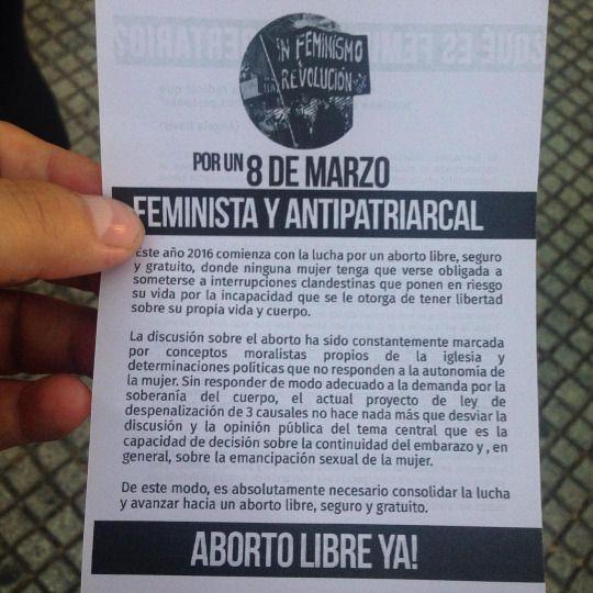 Marcha en #Santiago #Chile (en Parque San Borja)