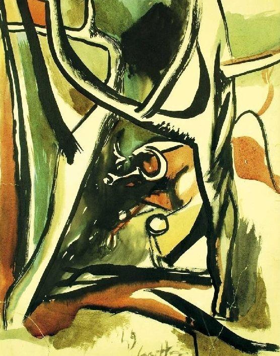 194. Toro nel bosco - 1949