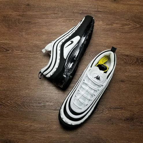 Kappa X Nike Air Max 97 Og Black White Aj1986 101 Nike Air Max 97 Nike Air Max Air Max 97