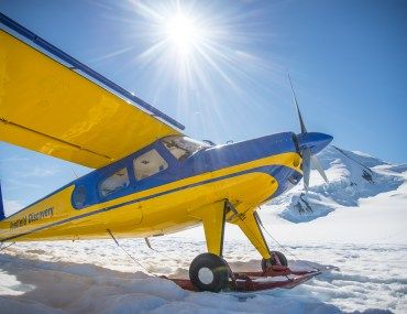Flightseeing through the Saint Elias Mountains over Kluane National Park and Reserve towards North America's tallest and largest mountain, Mt Logan, was the adventure of a lifetime.
