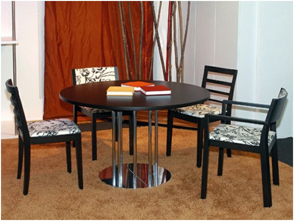 75 Remarquable Table Ronde Extensible 10 Personnes Photos