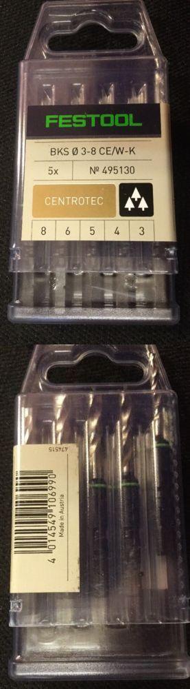 Drill Bits 50382: Festool 495130 Stubby Brad Point Bit Set 3-8Mm 5Pc Set -> BUY IT NOW ONLY: $43.99 on eBay!