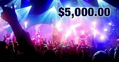 Win $5,000 To Spend on Ticketmaster.com