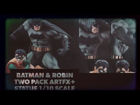 BATMAN & ROBIN TWO PACK ARTFX+ STATUE 1/10 SCALE