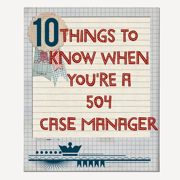 online clothing The Middle School Counselor  Things To Know When You Are A 504 Case Manager