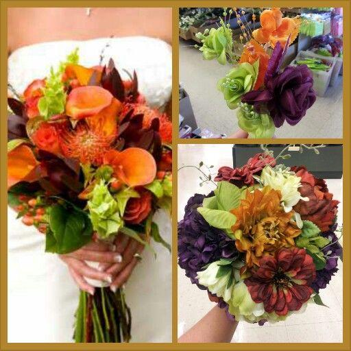 Pinterest Fall Wedding Flowers: Fall Wedding Flowers Good Colors For Camo Wedding