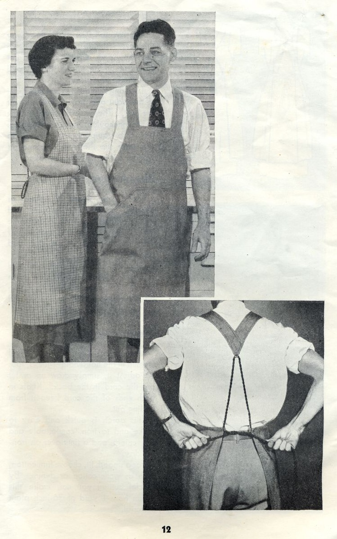 White apron john lewis - Full Cover Butcher Apron Tutorial