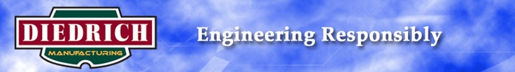 Diedrich Manufacturing, Inc. - Diedrich Coffee Roasters | Logo Header. Sandpoint, ID.