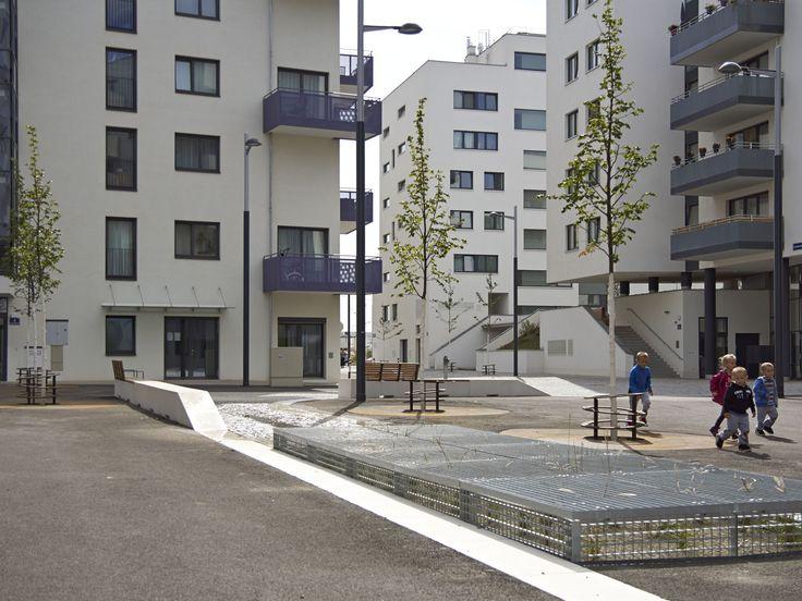 Public space . Seestadt Aspern by DnD Landschaftsplanung ZT KG www.dnd.at