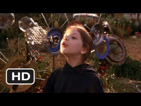 Harriet the Spy-Movie CLIP - Windchime Garden: I was in love wtih this I would love to incorporate some of the ideas from this in my own garden some day-adds so much interest