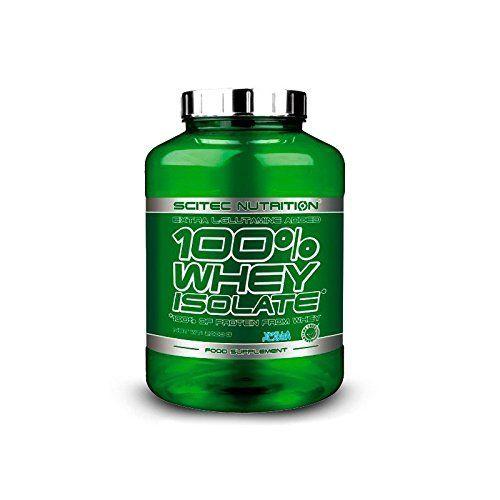 100% Whey Isolate Protein 2000g Vanilla Scitec Nutrition 80 servings 2kg = 4,41lb by Scitec Nutrition. 100% Whey Isolate Protein 2000g Vanilla Scitec Nutrition 80 servings 2kg = 4,41lb.