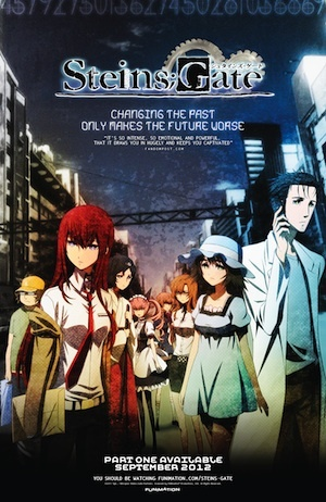 Steins Gate Dub World Premiere at Otakon. Even though I won't be there, I can't wait to see it!