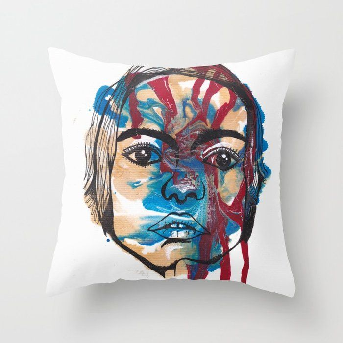 Buy Bleed Throw Pillow By Tgspill Worldwide Shipping Available At Society6 Com Just One Of Millions Of High Quality Products A Pillows Throw Pillows Bleeding