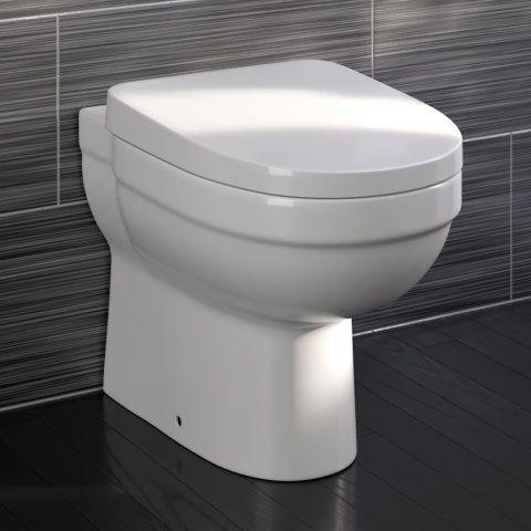 Sabrosa II Back to Wall Toilet inc Soft Close Seat