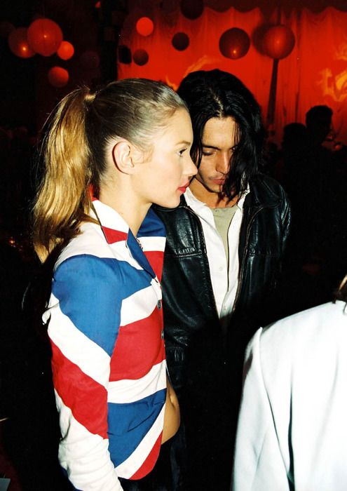 johnny depp and kate moss dating pictures