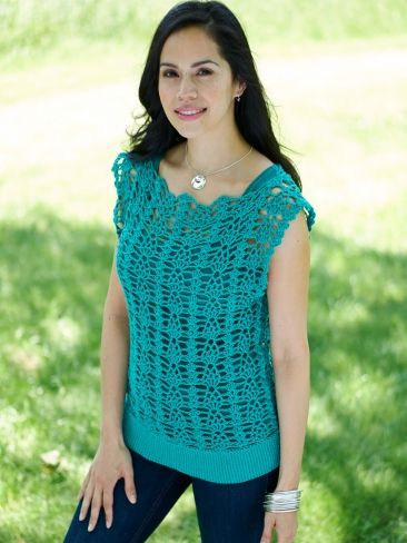 Bernat Cotton-ish by Vickie Howell - You Tunic Me On
