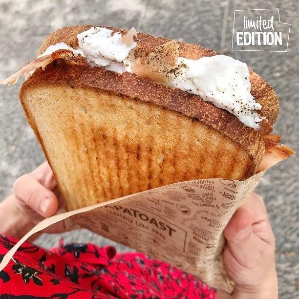 """""""Mi piace"""": 479, commenti: 33 - CAPATOAST Toasteria (@capatoast) su Instagram: """"ATTENZIONE! ✋🏼 New Toast LIMITED EDITION 🍞😍 Cicoli, ricotta di fuscella dei Monti Lattari, olio…"""""""