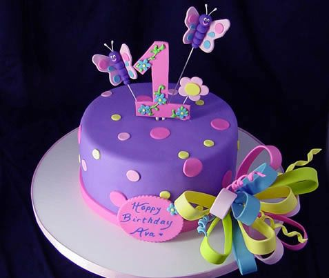 Butterfly Theme Party Cake