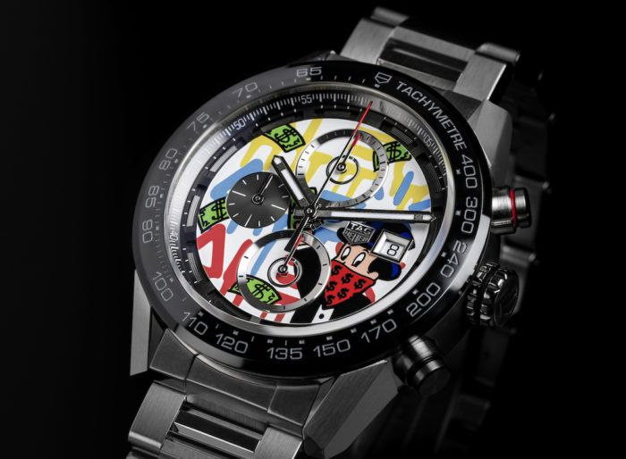 Tag Heuer Carrera And Formula 1 Alec Monopoly Edition Watches