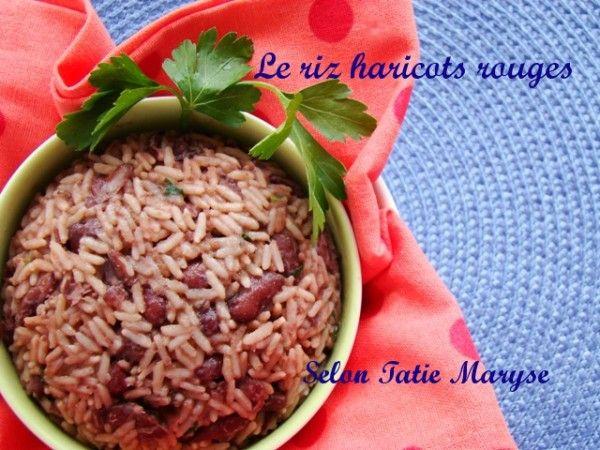 Le riz haricots rouges est très largement consommé en Guadeloupe accompagné de plats en sauce. Une spécialité créole à découvrir de toute urgence !